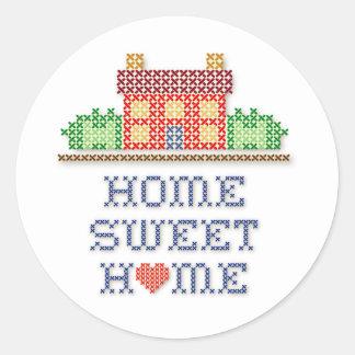 Het Zoete Huis van het huis Ronde Sticker