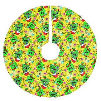 Het zoete patroon van de Kerstboom Kawaii Kerstboom Rok