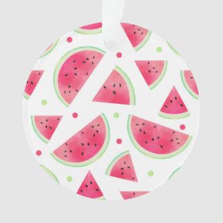 Het zoete Patroon van de Watermeloen van de Ornament