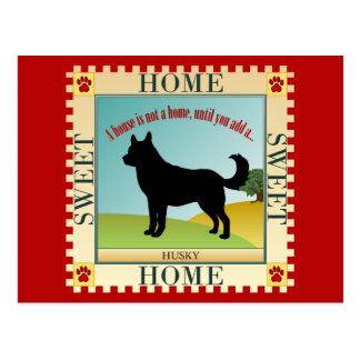 Het Zoete Schor Huis van het huis - Briefkaart