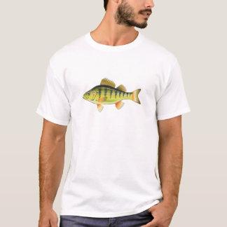 Het zoetwater Gele grafische ontwerp van de Kunst T Shirt