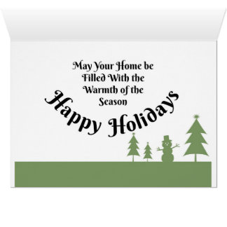 Het Zonlicht van Kerstmis in de Bomen Briefkaarten 0