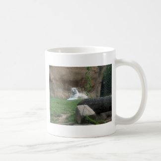 Het zonnebaden Witte Tijger Koffiemok