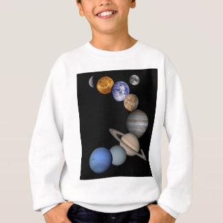 Het zonnestelsel strekt zich onze planeten uit trui