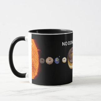 Het zonnestelsel van Donuts Mok
