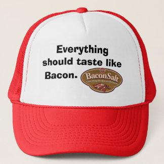 Het Zoute Pet van het bacon - het Logo/alles zou