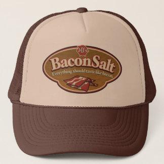 Het Zoute Pet van het bacon - het Logo van BS