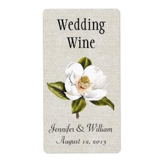 Het zuidelijke Etiket van de Wijn van het Huwelijk