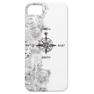Het Zuidoosten van het noorden & Hond Westie Barely There iPhone 5 Hoesje