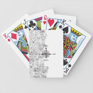 Het Zuidoosten van het noorden & Hond Westie Poker Kaarten