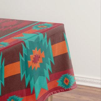 Het zuidwestelijke stammenpatroon van Navajo Tafelkleed