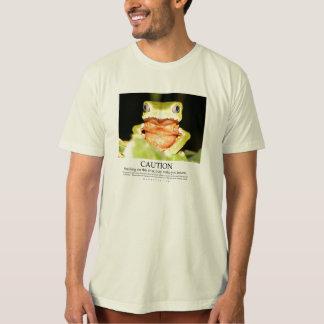 Het zuigen van deze kikker kan u krankzinnig maken t shirt