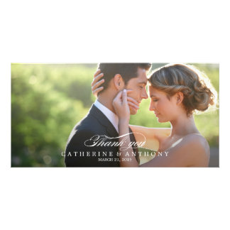 Het zuivere Huwelijk van de Elegantie dankt u - Fotokaart