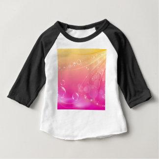 Het zuivere roze abstracte gloeien als achtergrond baby t shirts