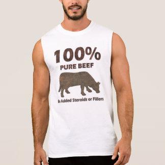 Het Zuivere Rundvlees van 100% Geen Steroïden T Shirt