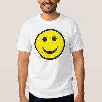 Het zure Gezicht van Smiley van het Huis T Shirts
