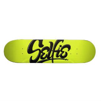 Het zure Groene Van letters voorzien van de Kunst 20,0 Cm Skateboard Deck