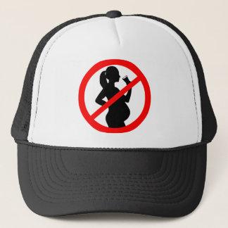 Het zwangere Symbool van de Alcohol van de Vrouw Trucker Pet