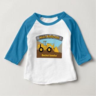 Het zware T-shirt van het baby van de Lader van de