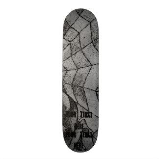 het zwart-witte abstracte retro art. van het 20,6 cm skateboard deck