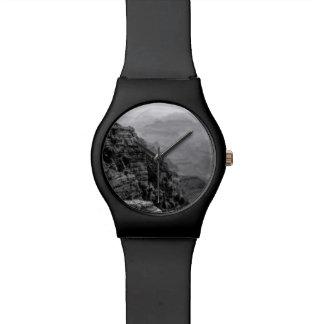 Het zwart-witte Grote Horloge van de Canion