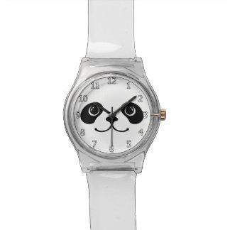 Het zwart-witte Ontwerp van het Gezicht van de Horloge