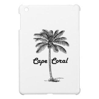 Het zwart-witte ontwerp van het Koraal & van de Hoesje Voor iPad Mini