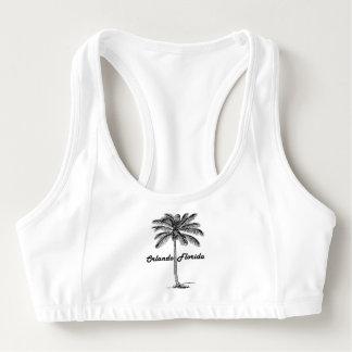 Het zwart-witte ontwerp van Orlando & van de Palm Sport BH