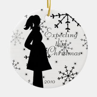 Het zwart-witte Ornament van de Zwangerschap van