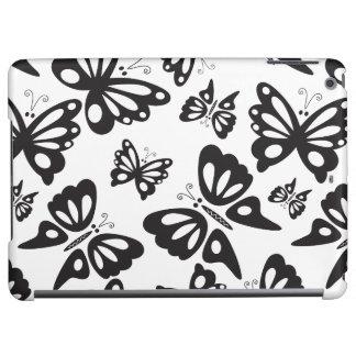 Het Zwart-witte Patroon van de vlinder -