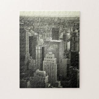 Het Zwart-witte Raadsel van de Stad van New York - Puzzel