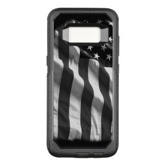 Het zwarte Amerikaanse Hoesje van de Vlag