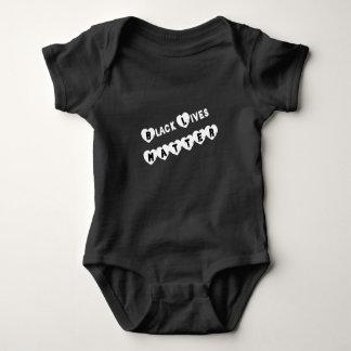 Het zwarte Baby van de Kwestie van het Leven Romper