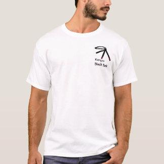 Het Zwarte band van Kenpo T Shirt