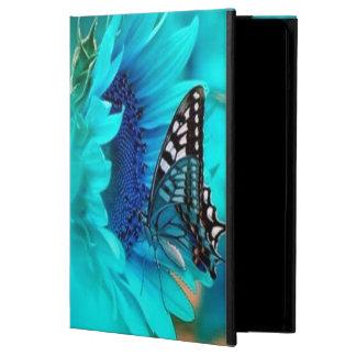 Het zwarte & Blauwe Hoesje van de Lucht van de Vli iPad Air Hoesje