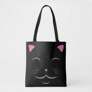 Het zwarte Canvas tas van de Kat