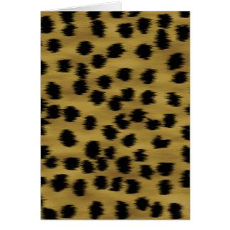 Het zwarte en Gouden Bruine Patroon van de Druk Kaart
