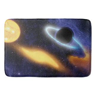 Het Zwarte gat PIA01884 van NASAs Badmat