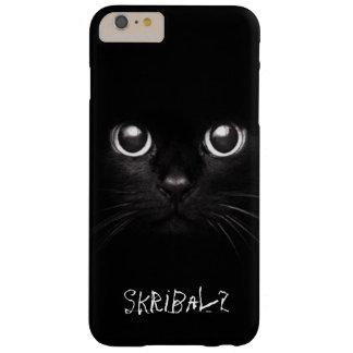 Het zwarte hoesje van de kattentelefoon