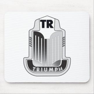 Het zwarte Logo Mousepad van Triumph Muismat