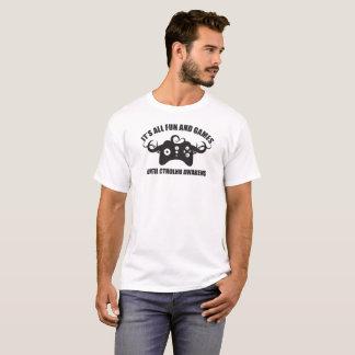Het Zwarte Logo van Cthulhu van Gamer T Shirt