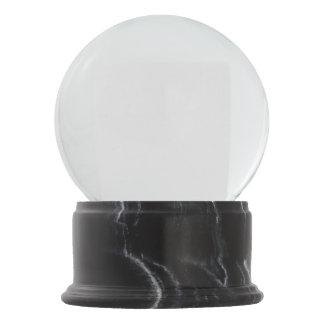 Het zwarte Marmer beëindigt het Wereldbol van de Sneeuwbol