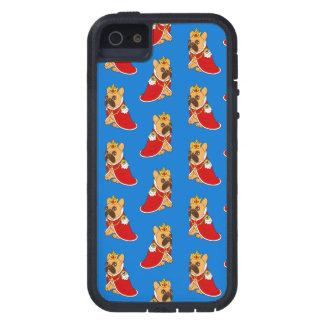 Het zwarte masker fawn Frenchie is de Koning van Tough Xtreme iPhone 5 Hoesje