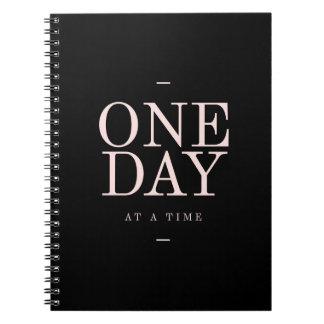 Het Zwarte Notitieboekje van het Motivatie Citaat Notitieboek
