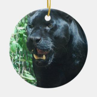Het zwarte Ornament van de Kat van de Panter