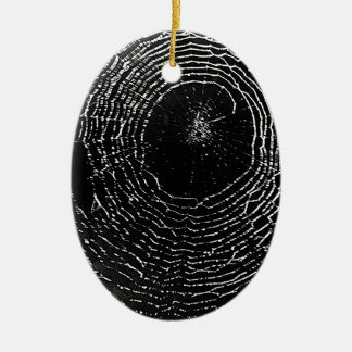 Het zwarte Ornament van het Spinneweb