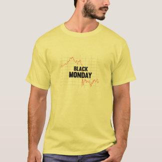 Het zwarte Overhemd van de Effectenbeurs van de T Shirt