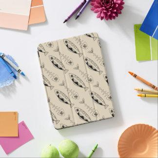 (Het zwarte) patroon van vissen, diverse kleuren iPad Air Cover