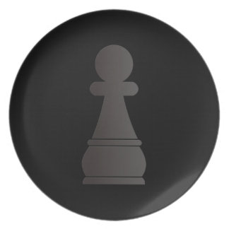 Het zwarte schaakstuk van het Pand Diner Borden