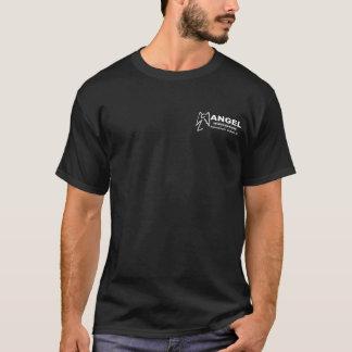 Het Zwarte T-shirt van de Onderzoeken van de engel